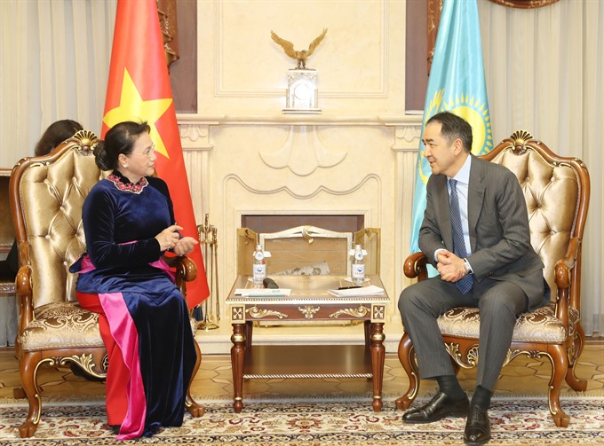National Assembly backs VN-Kazakhstan government co-operation