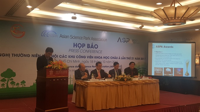 Asian Science Park Association meeting set to open in HCM City
