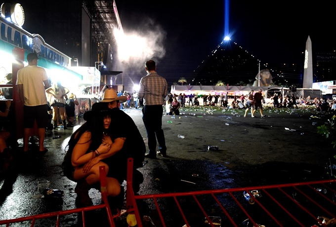 50 killed at Las Vegas concert in deadliest US shooting