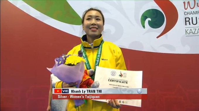 Ly second best in wushu world