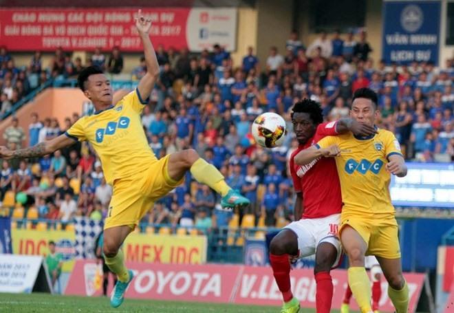 Quảng Ninh beat Thanh Hóa in V.League