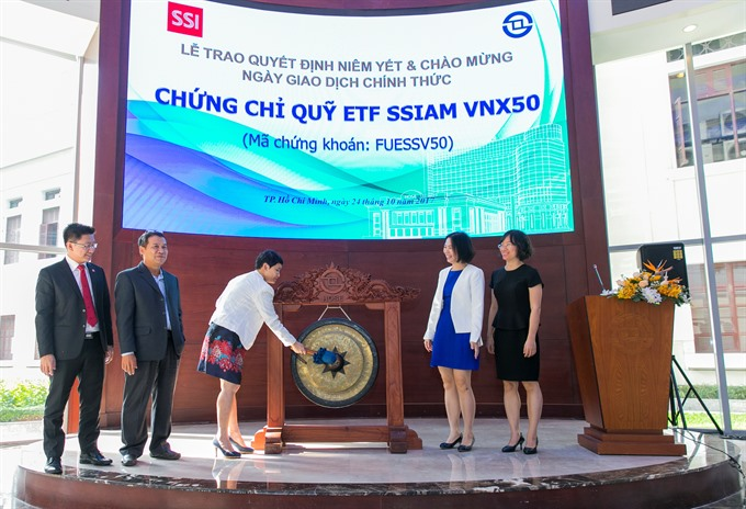 Exchange-traded fund moves from Hà Nội exchange to HCM City