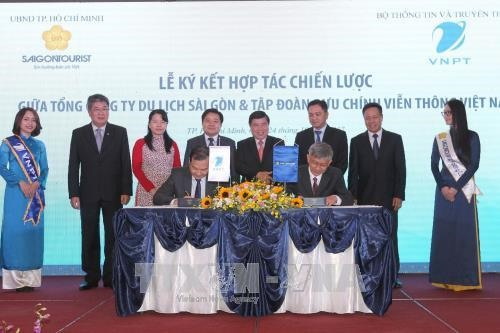 Saigontourist VNPT cooperate to build smart travel solutions