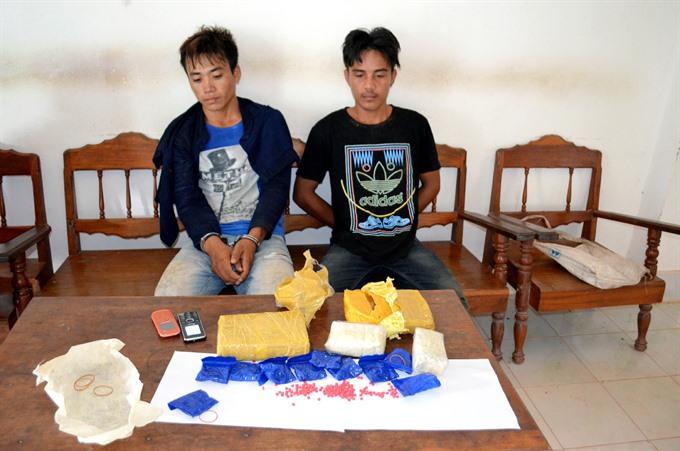 Juvenile drug traffickers multiply at VN-Lao border