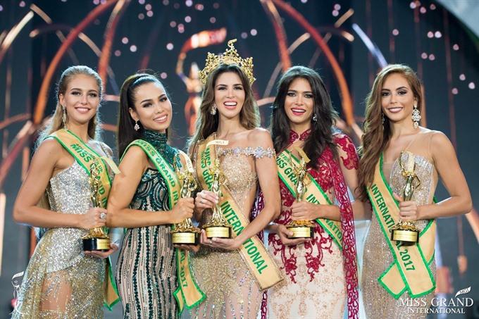 Peruvian beauty crowned Miss Grand International 2017