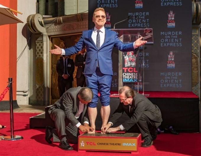 Kenneth Branagh cements status as Hollywood star