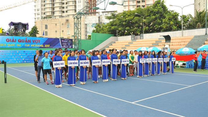 National Tennis Championship begins in HCM City
