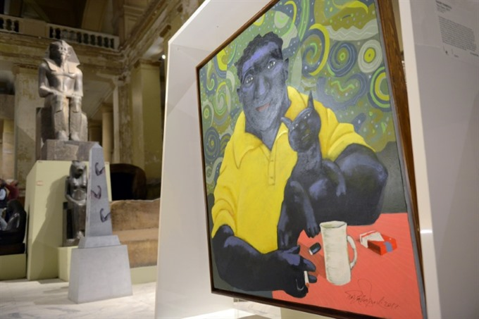 Pharaonic influences on display at Egypt art show