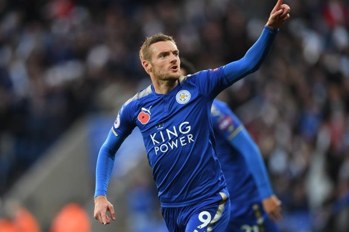 Vardy gives Puel perfect start as Leicester boss