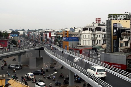Gò Vấp flyover in HCM City completed