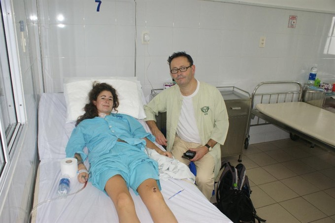 UK tourist recovers after serious accident