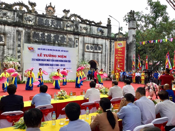 Côn Sơn–Kiếp Bạc Autumn Festival starts in Hải Dương