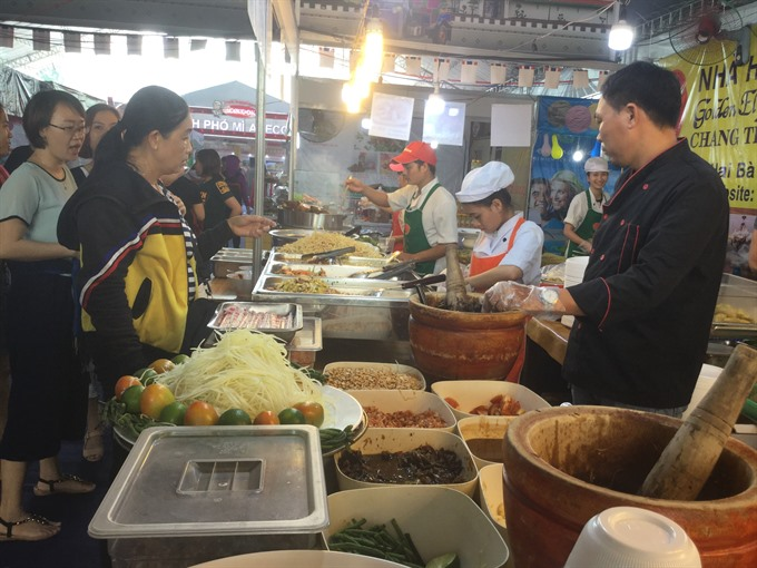 Five Continents Food Festival-World Food 2017 opens in HCM City