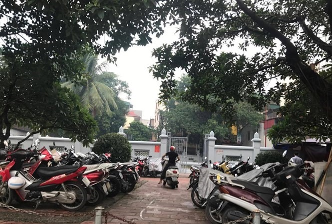 National relics crowded out by illegal parking