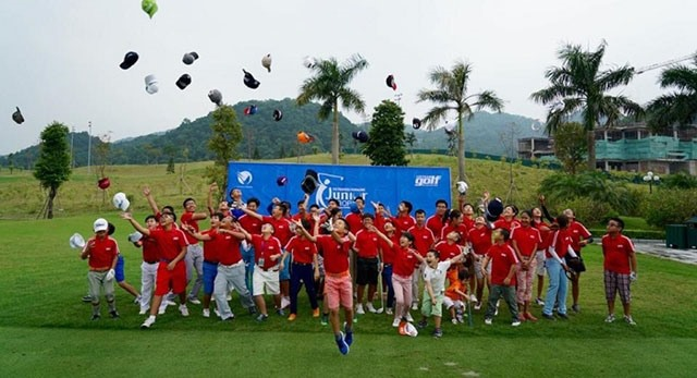 Junior golf tournament set to open in Hải Phòng