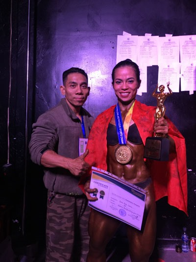 Việt Nam win four golds at world bodybuilding event