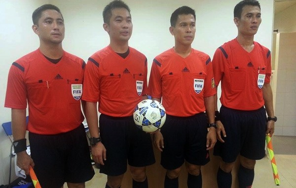 Thai referees to officiate at VN-Cambodia match