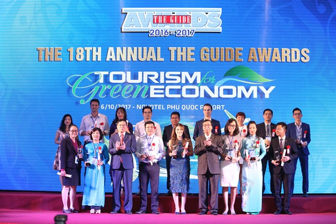 The Guide Awards promote Vietnamese tourism