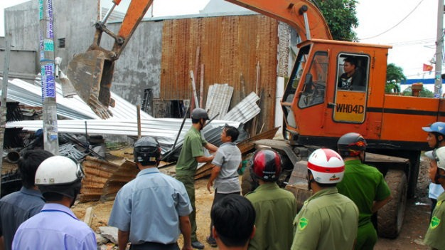 Construction law violations on the rise in HCMC