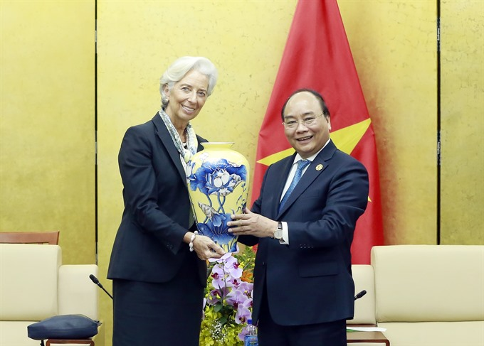 Prime Minister receives IMF Managing Director