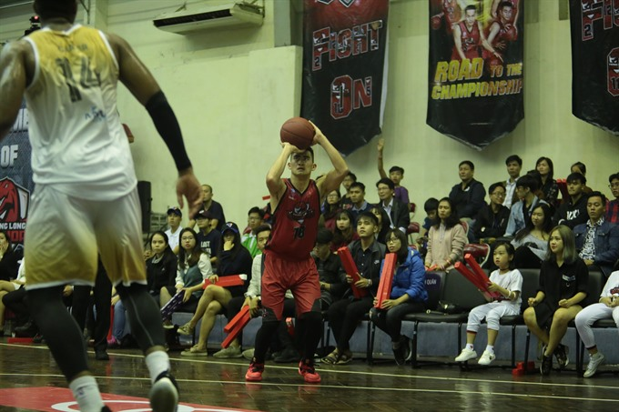 Thang Long Warriors crush Hanoi Buffaloes at VBA