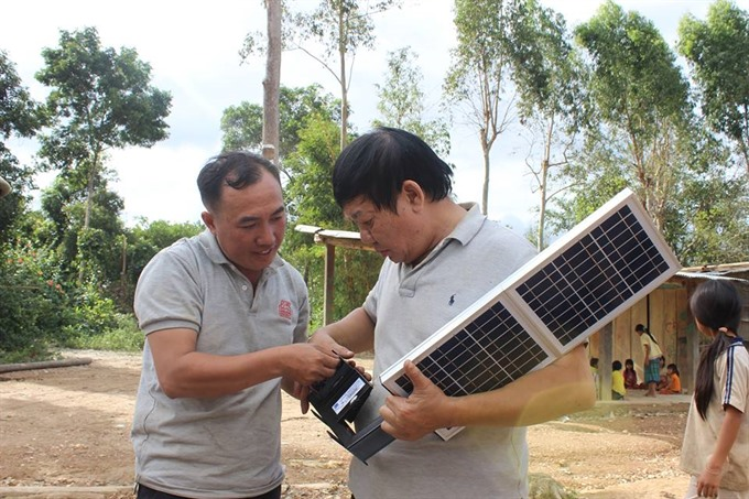 Mông villagers in Đắk Lắk access solar electricity and clean water