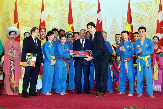 Canadian PM Justin Trudeau impressed by Vovinam