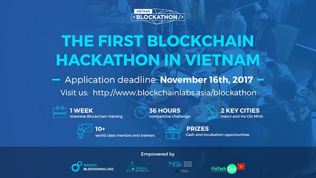 First Blockchain Hackathon in Việt Nam launched