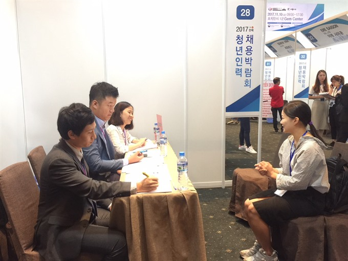 Korean firms hire at HCM City job fair