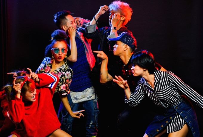 Urban Dance Group to feature US VN dancers