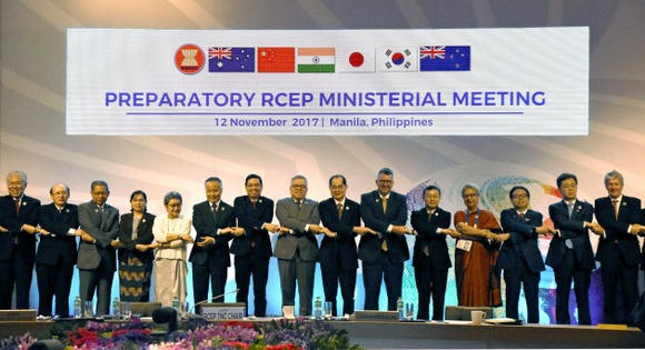 RCEP negotiating nations now aim to conclude agreement in 2018