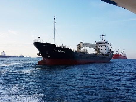 Vietnamese sailors rescued