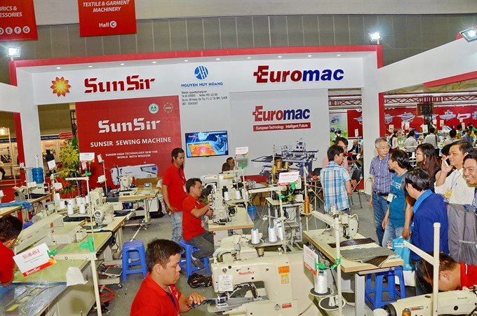 VNs largest textile and garment expo attracts hundreds of intl brands
