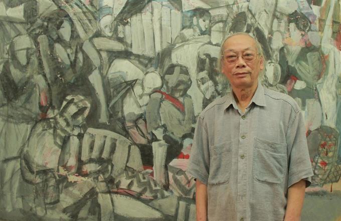 Oánhs paintings depict wartime memories