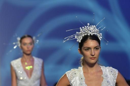 Fairies brides in black descend on Arab Fashion Week