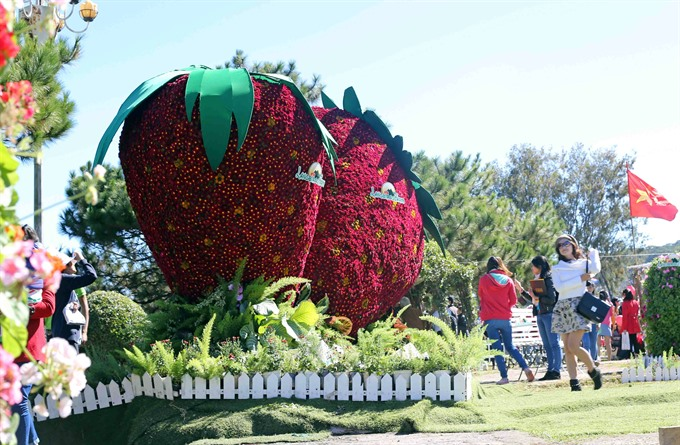Đà Lạt Flower Festival to begin December 23