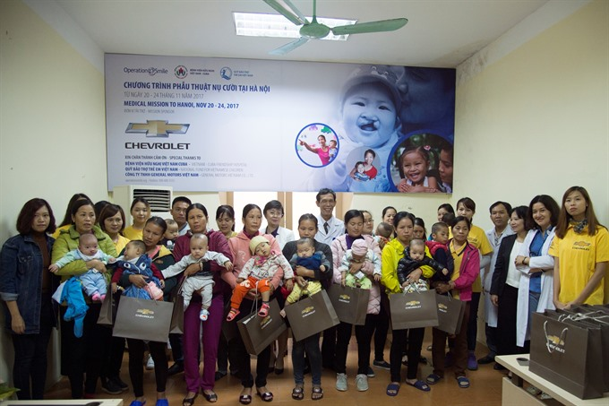 GM Việt Nam joins hands with Operation Smile