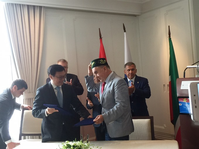 Việt Nam Tatarstan discuss economic relations