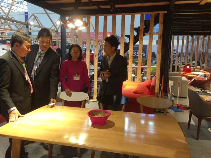 HCMC hosts furniture fair