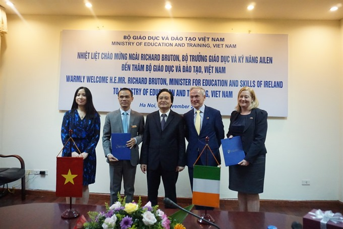 Irish and VN higher education institutions promote co-operation
