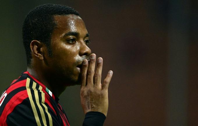 Brazil striker Robinho handed nine-year term for rape
