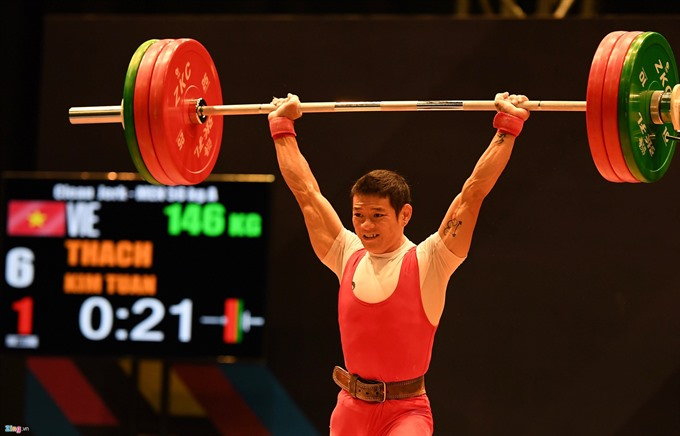 Việt Nam to compete in US weightlifting champs