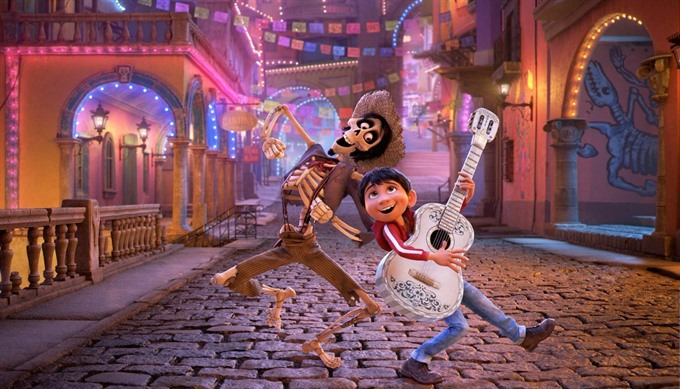 'Coco a lively take on the Day of the Dead wins at box office