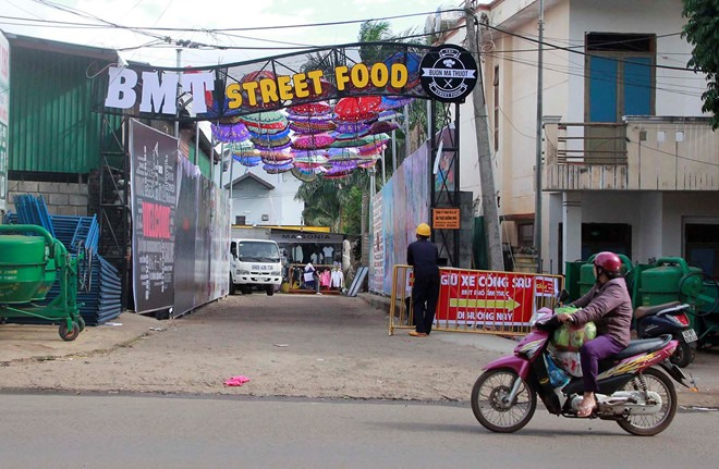 Đắk Lắk night market asked to halt operation