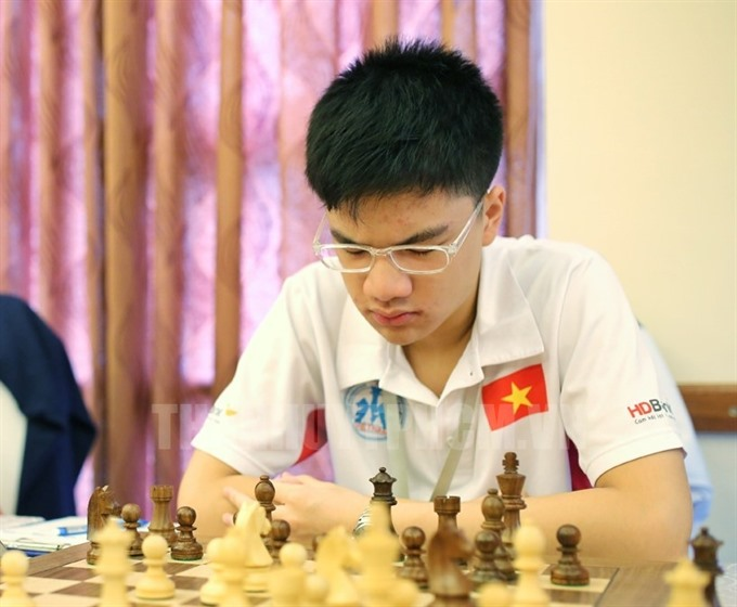 Khôi wins standard chess title for best masters