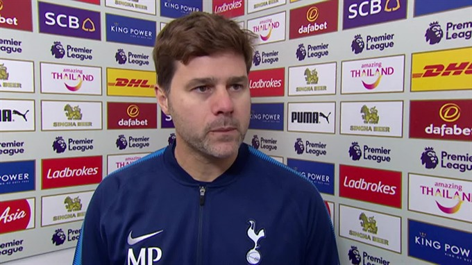 Pochettino laments Spurs lack of fight in Leicester loss