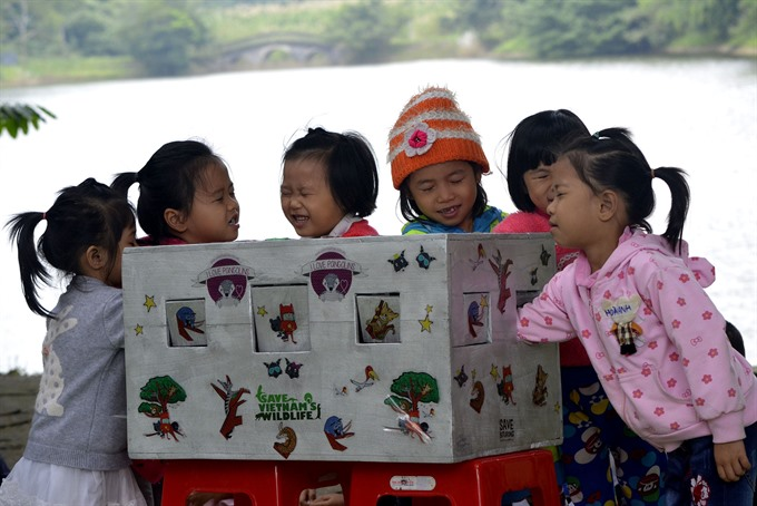 3200 children join Valuing Nature in Childhood Programme