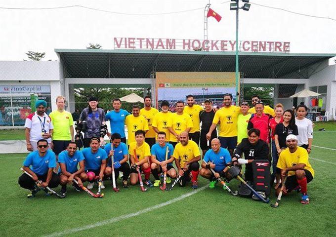 Rock Adventure Blue win Việt Nam hockey festival