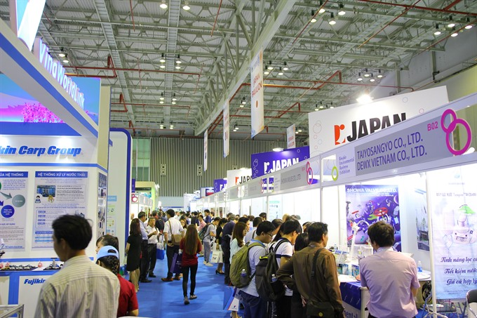VIETWATER expo opens in City