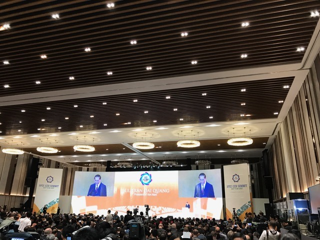 President Quang opens APEC CEO Summit in Đà Nẵng